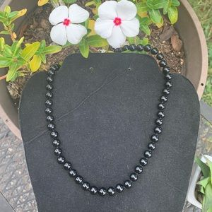 Jewelry - 🌺Black shell peal necklace 🌺